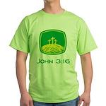John 3:16 Green T-Shirt