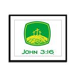 John 3:16 Framed Panel Print