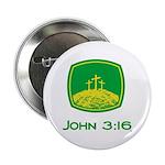 John 3:16 Button