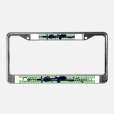 Celtic Warrior License Plate Frame