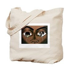 Tears of a Black Man Tote Bag