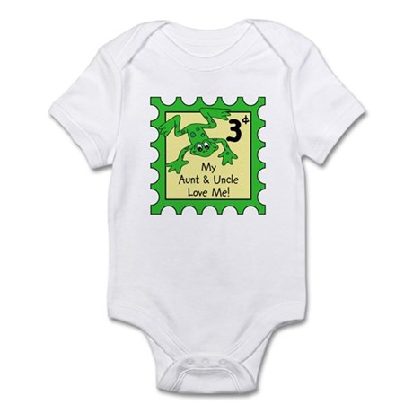 My Aunt & Uncle Love Me FROG Baby/Toddler body