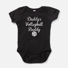 Daddys Volleyball Buddy Baby Bodysuit