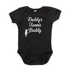 Daddys Tennis Buddy Baby Bodysuit
