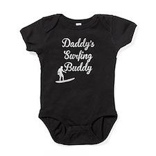 Daddys Surfing Buddy Baby Bodysuit