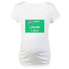 Lincoln NE, Interstate 80 East Shirt