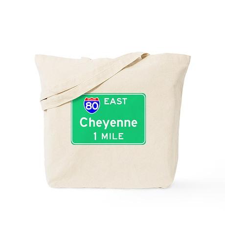 Cheyenne WY, Interstate 80 East Tote Bag