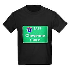 Cheyenne WY, Interstate 80 East T