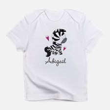Zebra Animal Personalized Infant T-Shirt