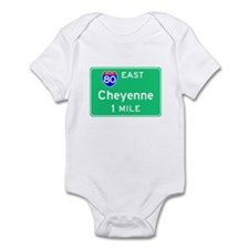Cheyenne WY, Interstate 80 East Onesie