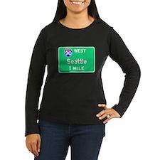 Seattle WA, Interstate 90 West T-Shirt