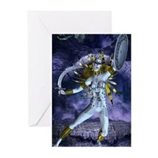 Night Battle Greeting Cards (Pk of 10)