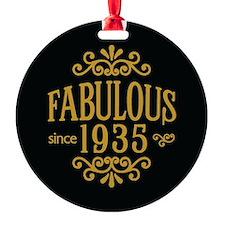 Fabulous Since 1935 Ornament