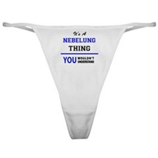 Unique Nebelung Classic Thong