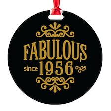 Fabulous Since 1956 Ornament