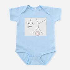 Unique Love your body Infant Bodysuit