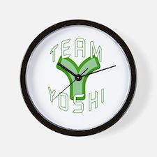 Team Yoshi Wall Clock