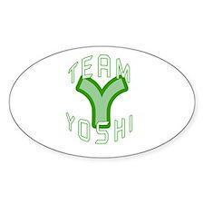 Team Yoshi Oval Decal