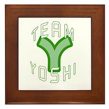 Team Yoshi Framed Tile