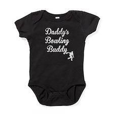 Daddys Bowling Buddy Baby Bodysuit