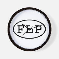 FLP Oval Wall Clock