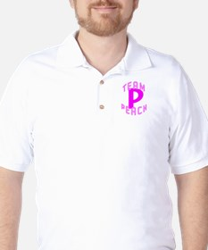 Team Peach Golf Shirt