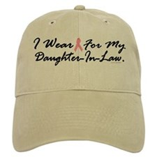 I Wear Pink For My Daughter-In-Law 1 Baseball Cap