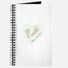 Baby Girl's Name in Heart Journal