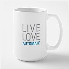 Live Love Automate Mugs
