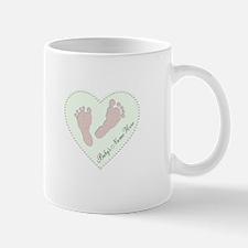 Baby Girl's Name in Heart Mug