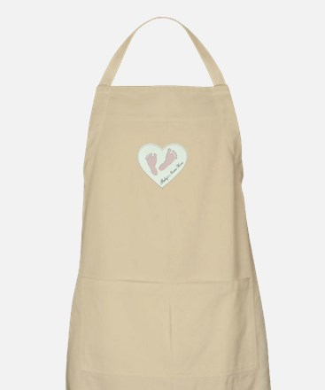 Baby Boys Name in Heart Apron