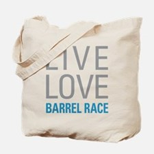 Barrel Race Tote Bag