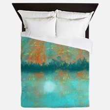 Land and Moon Queen Duvet
