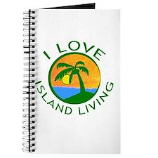 I Love Island Living Journal