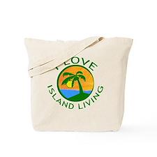 I Love Island Living Tote Bag