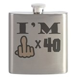 40th birthday Flasks