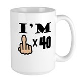 40 Large Mugs (15 oz)