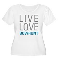 Bowhunt Plus Size T-Shirt