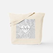 Romantic Monogram Tote Bag