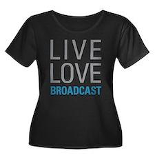 Broadcast Plus Size T-Shirt