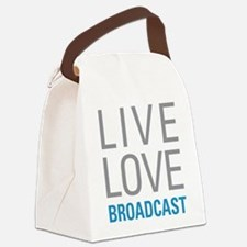 Broadcast Canvas Lunch Bag