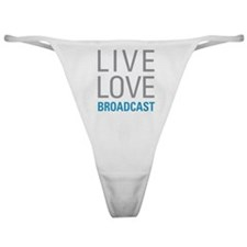 Broadcast Classic Thong