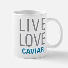 Live Love Caviar Mugs