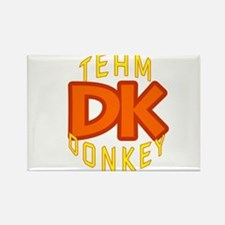Team Donkey Kong Rectangle Magnet
