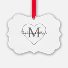 Romantic Monogram Ornament