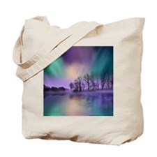 Northern Lights, Dawn Of The North, Tote Bag