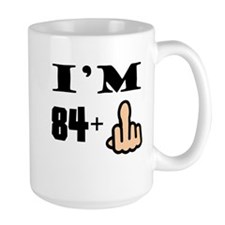 Middle Finger 85th Birthday Mugs