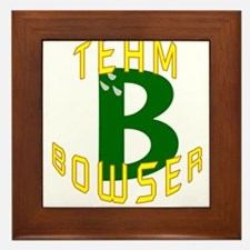 Team Bowser Framed Tile