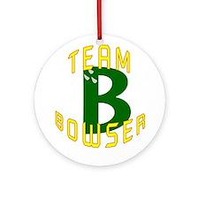 Team Bowser Ornament (Round)