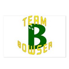 Team Bowser Postcards (Package of 8)